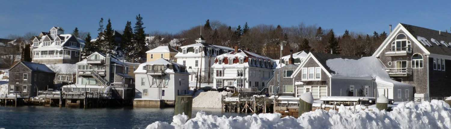 Stonington in Winter