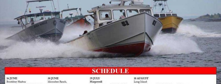 2018 Maine Lobster Boat Racing