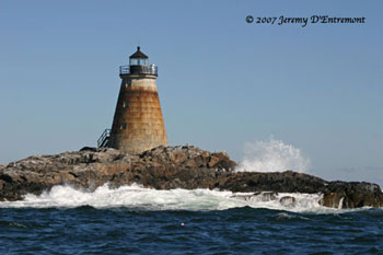 Saddleback Ledge Light