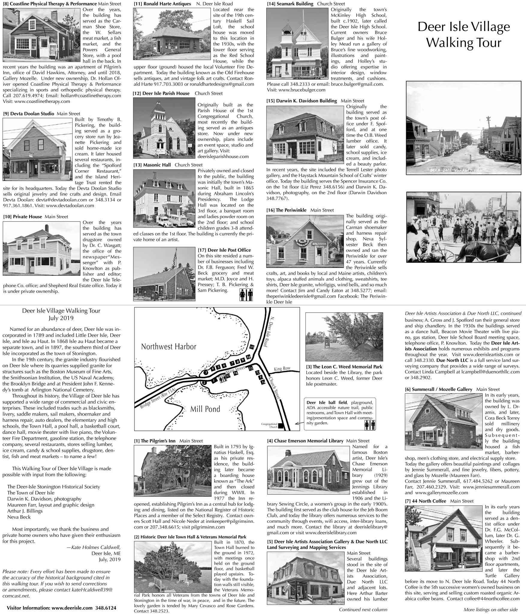 Deer Isle Village Walking Tour