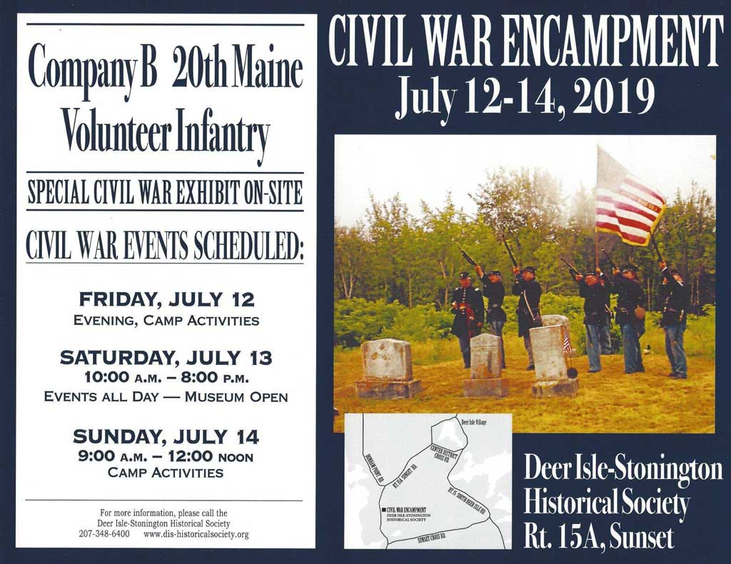 Civil War Encampment | DI-S Historical Society
